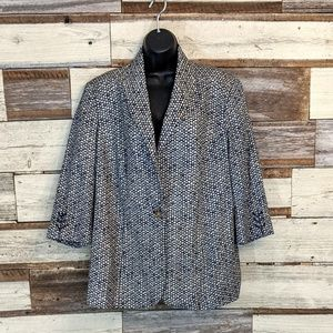 Coldwater Creek Jackets & Coats - Coldwater Creek Laced Cuff Blazer NWT sz 18
